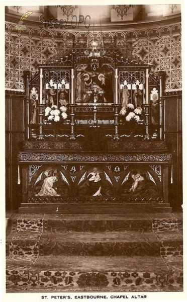 Image of Eastbourne - St Peter's Church (chapel altar)