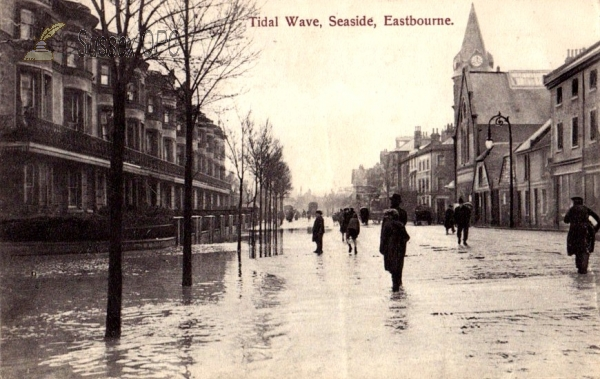 Eastbourne - Seaside, Tidal Wave Flood