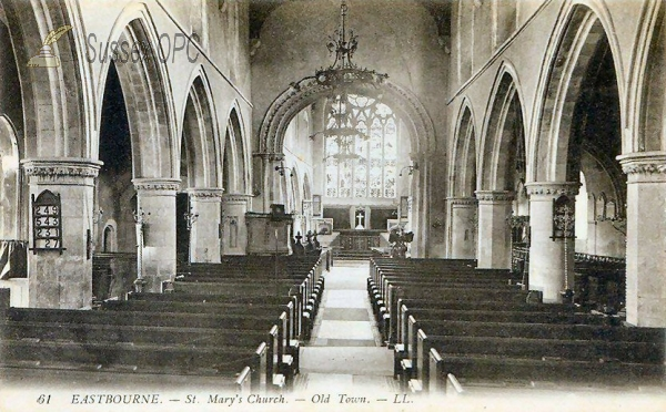Eastbourne - St Mary's Church (Interior)