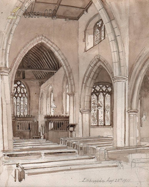 Image of Etchingham - The Church (Interior)