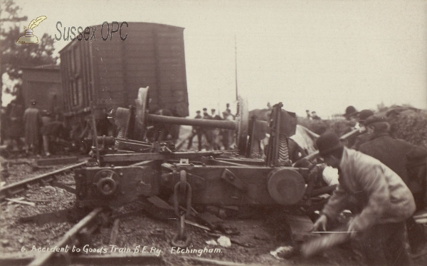 Image of Etchingham - Railway Accident (27 Oct 1909)
