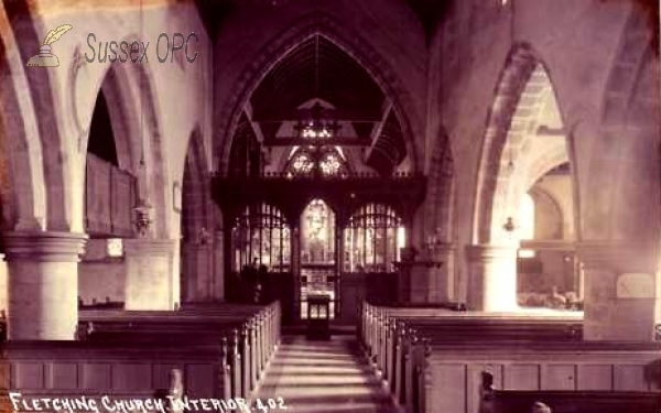 Fletching - St Andrew & St Mary Church (Interior)