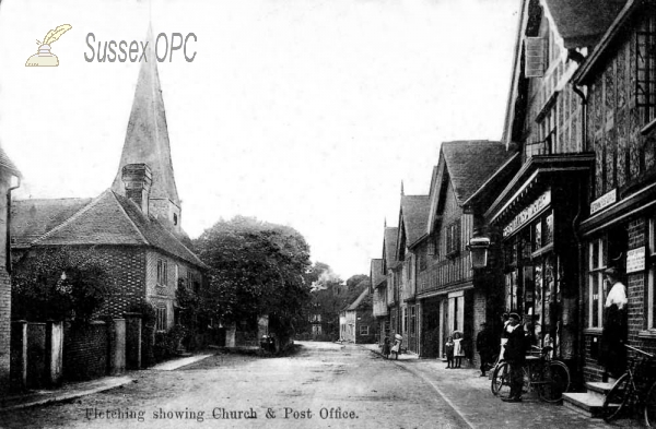Fletching - Church & Post Office