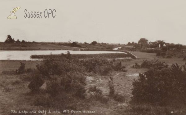 Piltdown - Lake & golf links