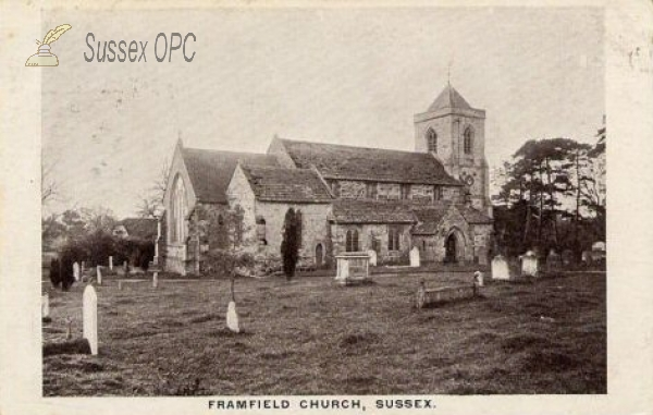 Framfield - St Thomas à Becket Church