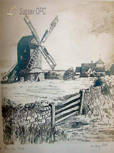 Image of Friston - The Church & Windmill