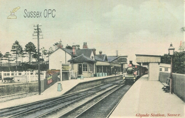 Image of Glynde - Railway Station (Colour variant)