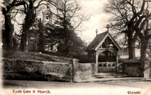 Image of Glynde - St Mary's Church & Lychgate