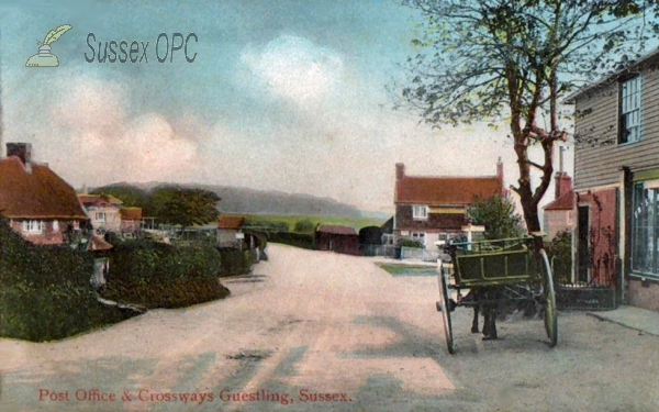 Image of Guestling - Post Office & Crossways