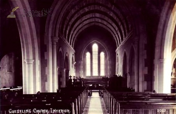 Guestling - St Laurence Church (Interior)