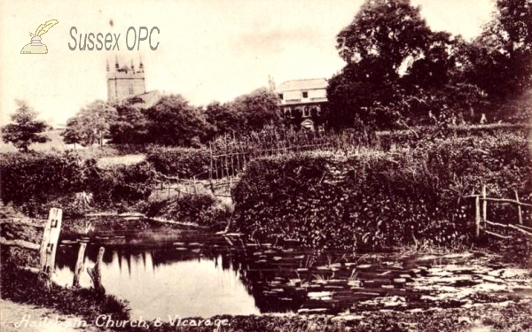 Image of Hailsham - Church and Vicarage