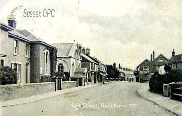 Image of Hailsham - High Street & Methodist Church