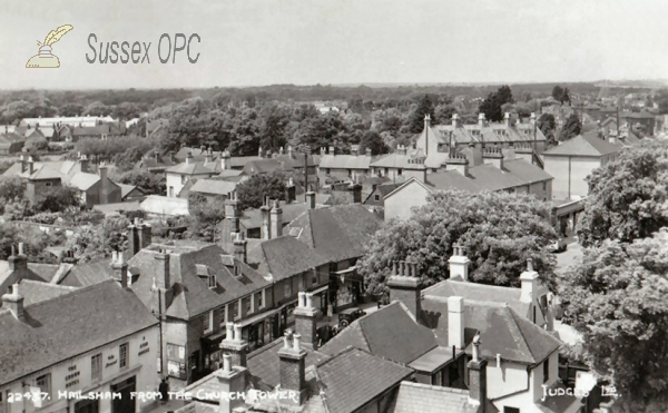 Image of Hailsham - View from the Church Tower