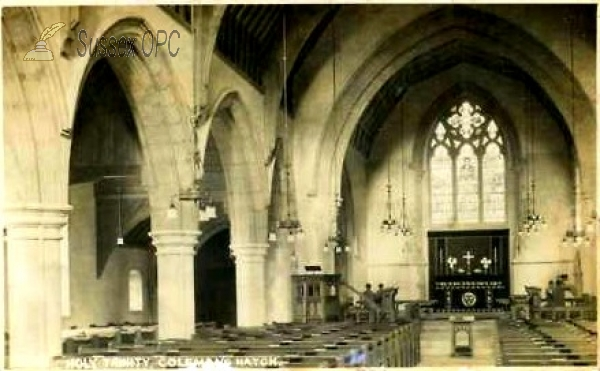 Image of Colemans Hatch - Holy Trinity Church (Interior)