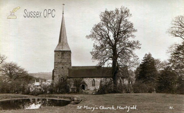 Image of Hartfield - St Mary (Bare branches)