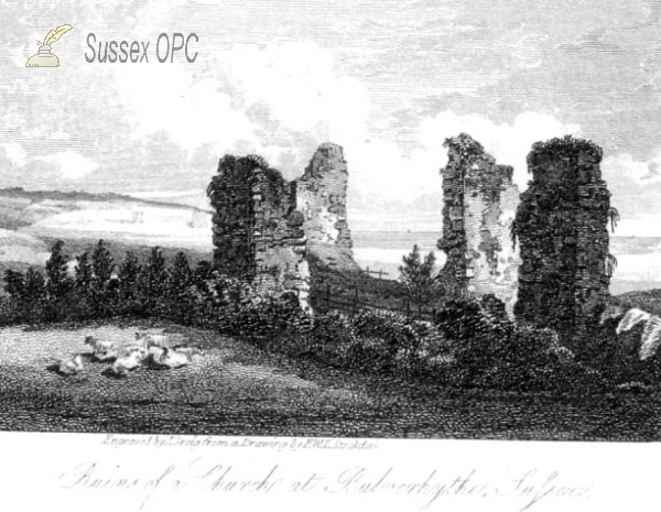 Image of St Leonards - Ruins of St Mary's Chapel, Bulverhythe