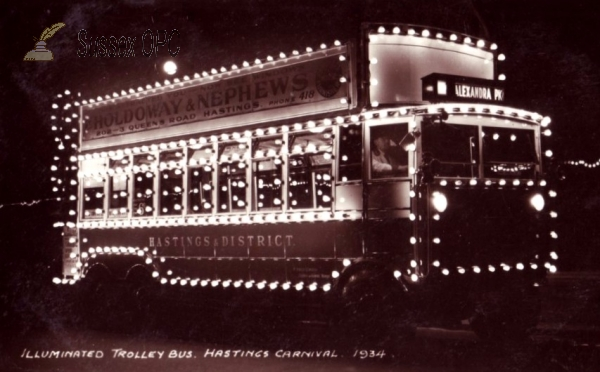 Hastings - Illuminated Trolley Bus