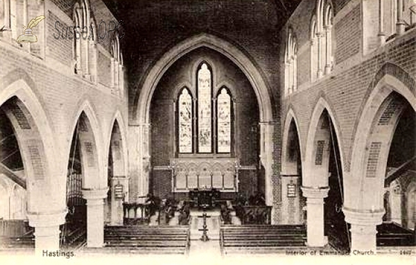 Hastings - Emmanuel Church (interior)