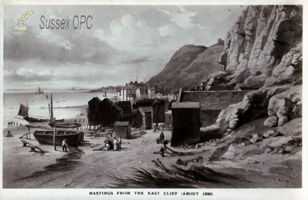 Hastings - View from the East Cliff