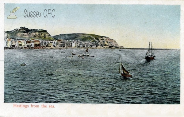 Hastings - View from the sea
