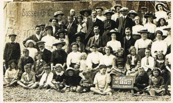 Image of Hastings - Group on Beach