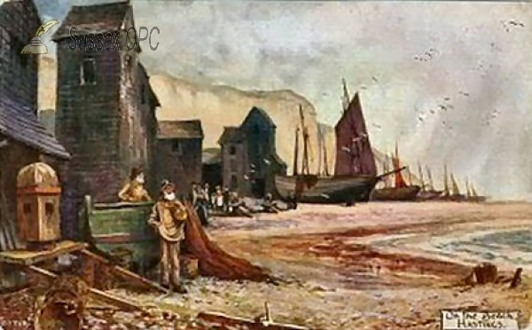 Hastings - Fishing Boats