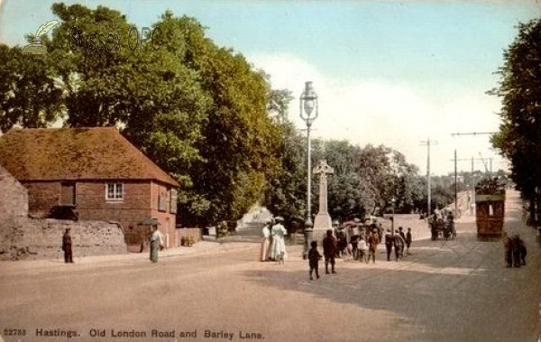 Image of Hastings - Old London Road and Barley Lane