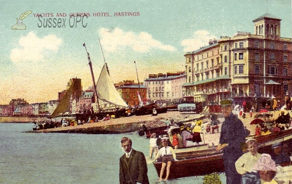 Hastings - Queens Hotel & yachts
