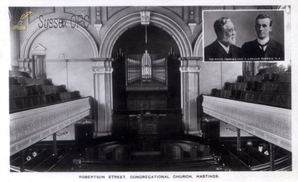 Hastings - Robertson Street Congregational Church (Interior)