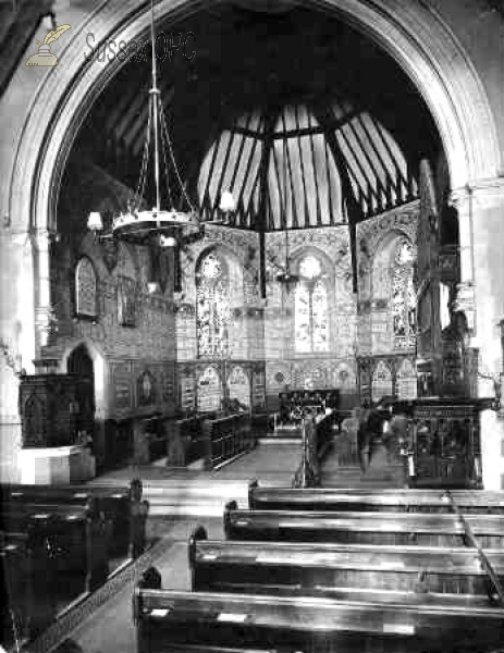 Image of Hastings - St Andrew's Church (interior)