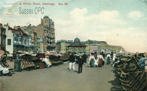 Image of Hastings - White Rock (Band stand)