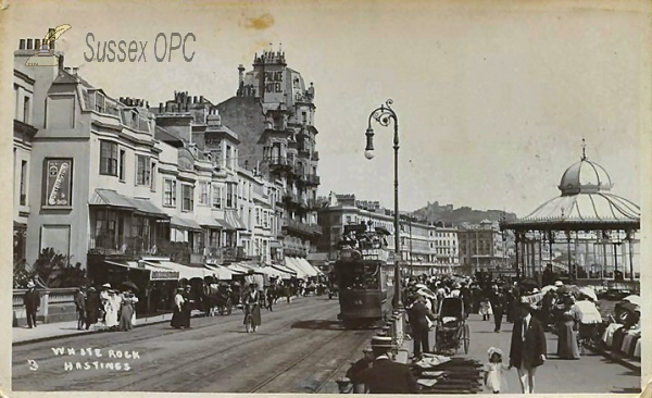 Image of Hastings - White Rock & Palace Hotel