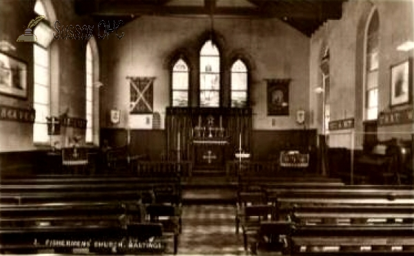 Hastings - Fishermens Church (Interior)
