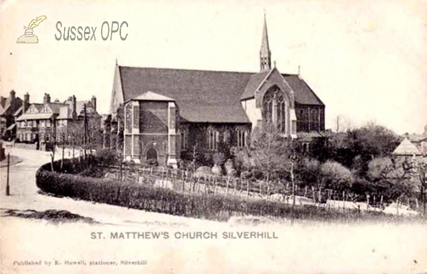 St Leonards - St Matthew's Church, Silverhill
