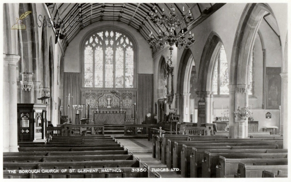 Walmer - St Clement (Nave & chancel)