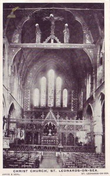 St Leonards - Christ Church (Interior)