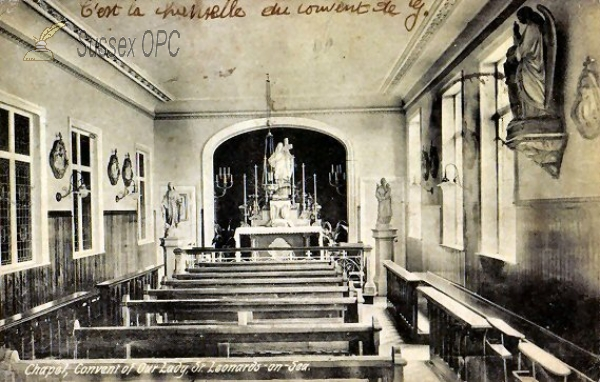 Image of St Leonards - Convent of Our Lady Chapel (Interior)