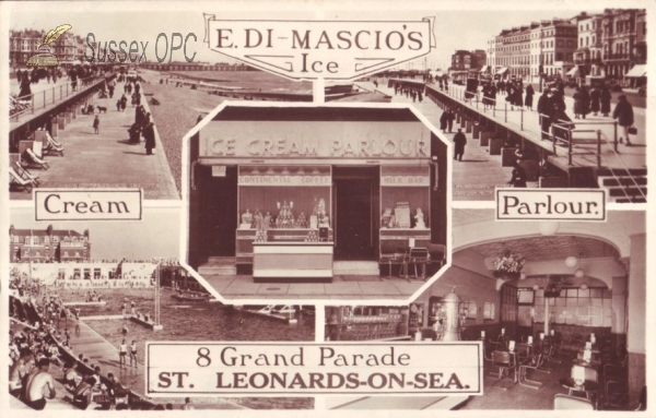 Image of St Leonards - E Di-Mascio's Ice Cream Parlour