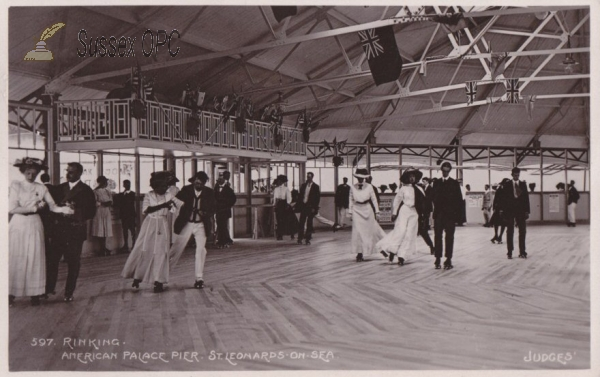 Image of St Leonards - American Skating on the Palace Pier