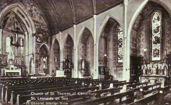 St Leonards - St Thomas's Church (Interior)