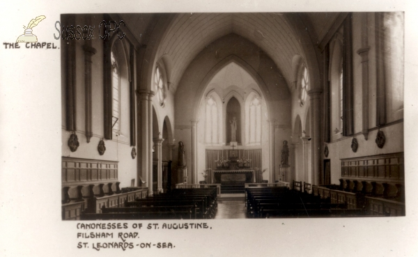 St Leonards - Canonesses of St Augustine (Interior)