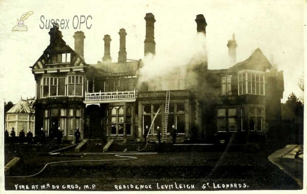 Image of St Leonards - Fire at Levit Leigh