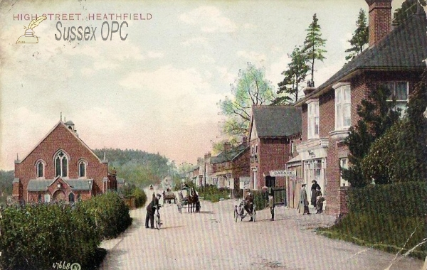 Heathfield - High Street & Union Church