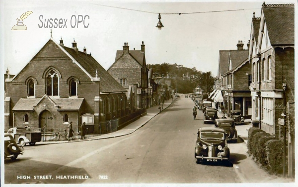 Image of Heathfield - The High Street & Union Church