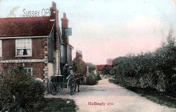 Image of Hellingly - Public House & Church