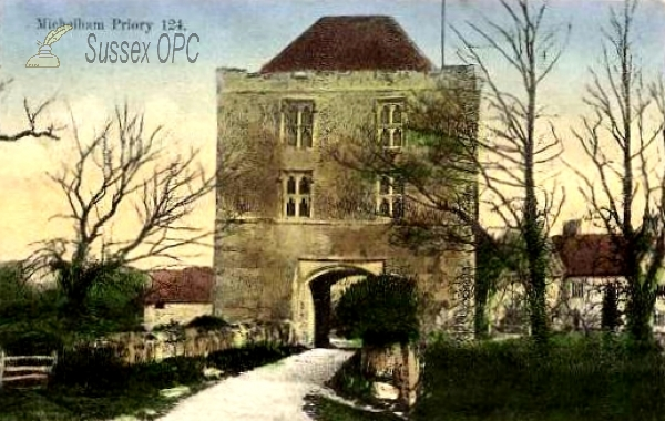 Upper Dicker - Michelham Priory, the Gatehouse