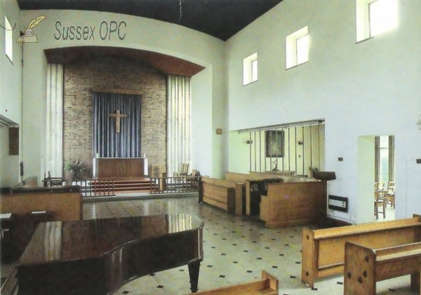 Baldslow - St Mary's Convent School, New Chapel (Interior)