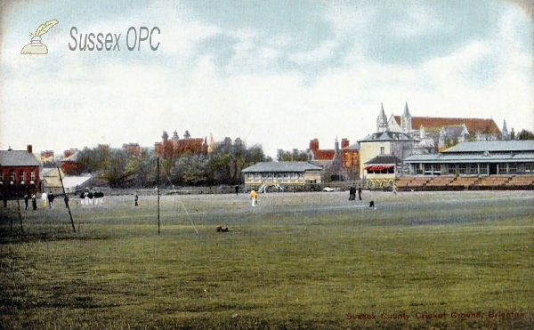 Image of Hove - Sussex County Cricket Ground, Eaton Road