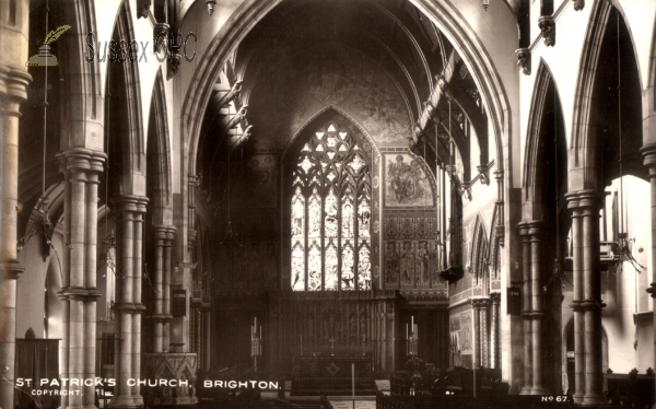 Hove - St Patrick's Church - Interior