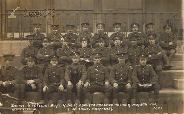 Hove - Royal Sussex Regiment (6th Cyclist Batt.)
